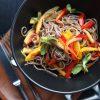 Гречневая Лапша овощной микс
